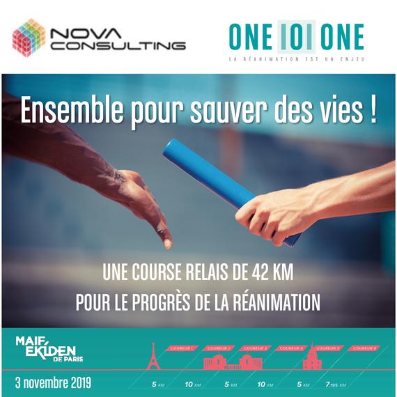 Nova Consulting x 101 : la course pour la vie